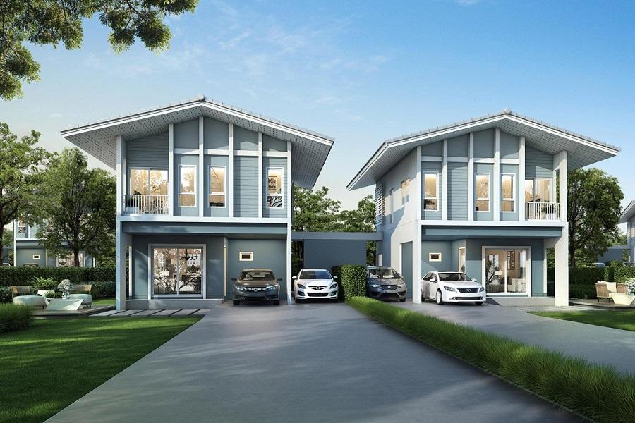 บ้านแฝดสวย