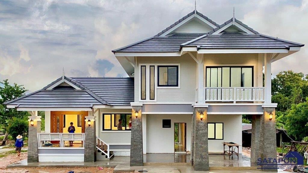 บ้านสไตล์ไทยประยุกต์เป็นแบบไหน