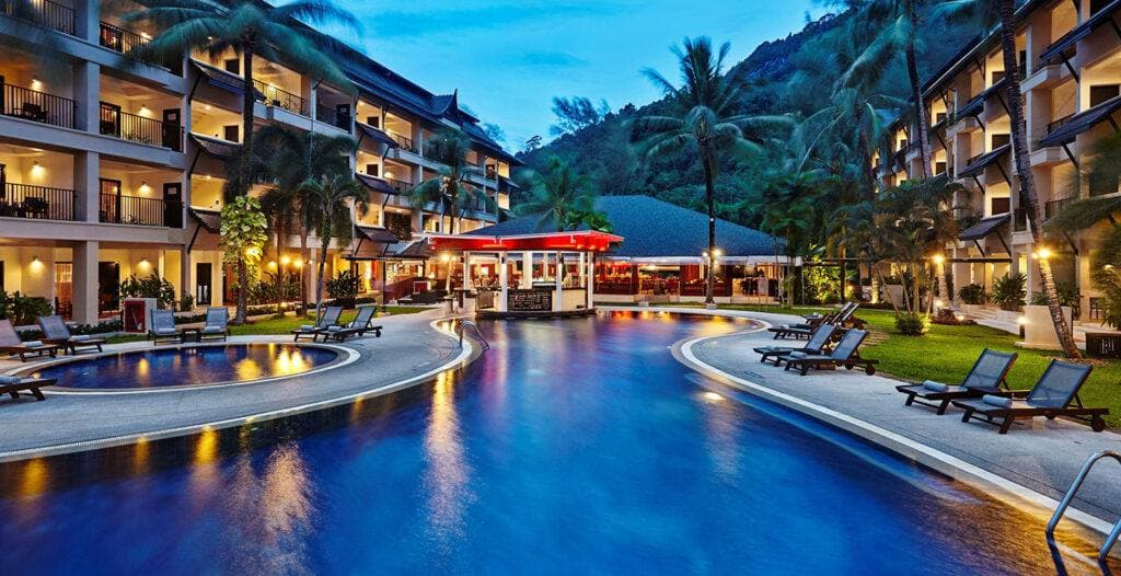 โรงแรมภูเก็ต 5 ดาว ติดทะเล