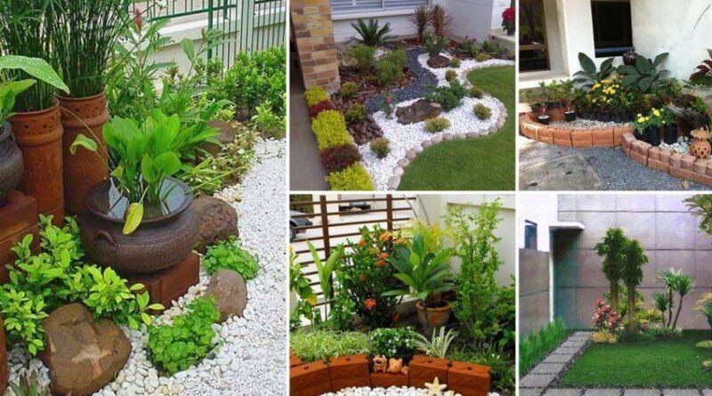 จัดสวนข้างบ้าน งบน้อย ทำได้ง่ายๆ