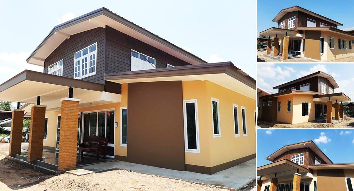 บ้านครึ่งปูนครึ่งไม้ ในปี2021
