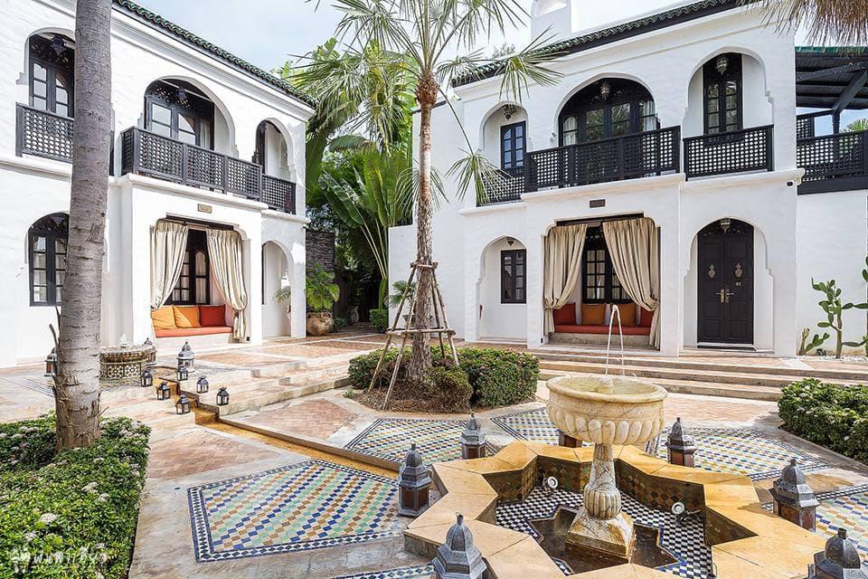 หยุดงานออฟฟิคมาพัก villa maroc